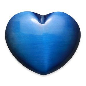 Heart, Agate - Banded