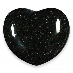 Heart, Goldstone - Green