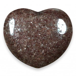 Heart, Mica - Red