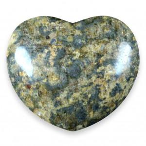 Heart, Jasper - Leopardskin
