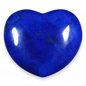 Heart, Howlite - Lapis