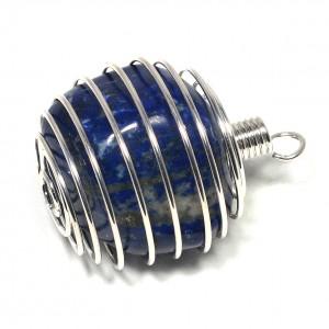 Pendant, Spiral Holder, Small, Bag of 10